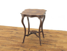 インレイも素敵なローズウッド材サイドテーブル55268
