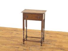 イギリスサイドテーブル アンティークフレックス