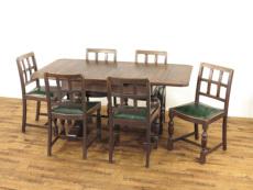 アンティーク家具 テーブルチェアセット