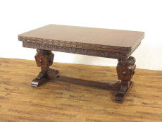 アンティーク家具 ドローリーフテーブル
