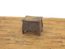 イギリスアンティーク家具 コファー スツール
