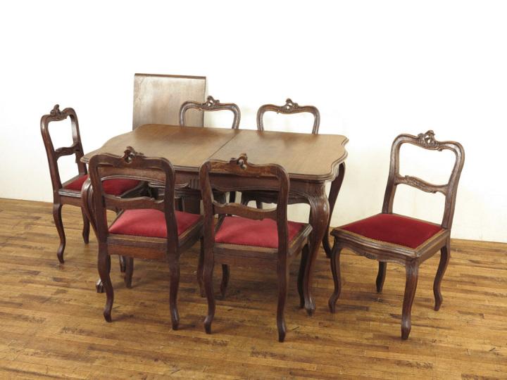 テーブル・チェア6脚セット 62981a