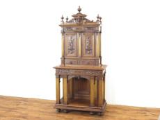 アンティーク家具 ルネサンス キャビネット