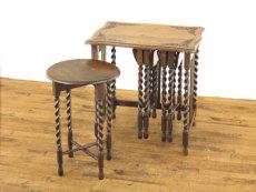 ネストテーブル アンティークフレックス