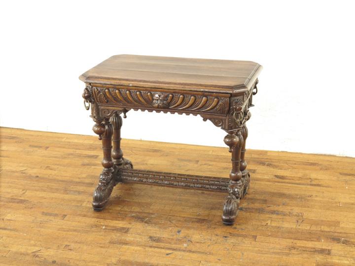 アンティーク家具 ドルフィンテーブル