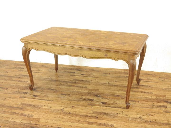 猫脚ドローリーフテーブル アンティークフレックス