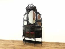 アンティーク家具 ビクトリアンパーラーキャビネット